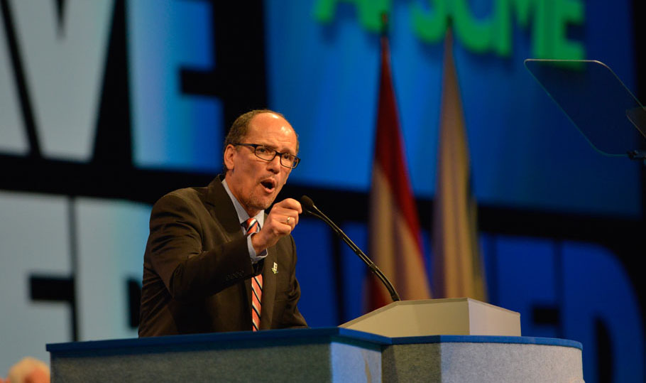 U.S. Secretary of Labor Thomas Perez